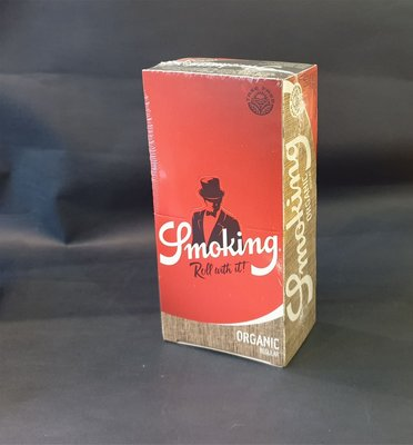 ONE*$1~西班牙Smoking*ORGANIC-7公分《 捲煙紙 》天然麻纖維*每小盒60張*一大盒50小盒