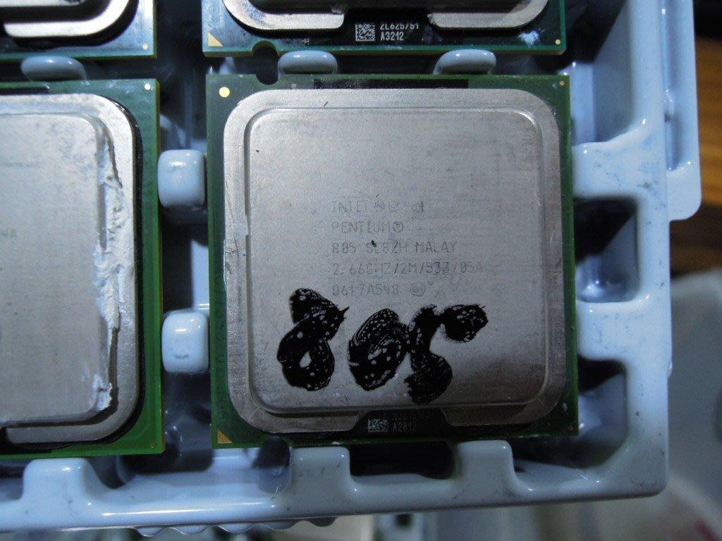 ...點子電腦-北投...中古良品◎雙核心Pentium 805 2.66G/2M/533◎使用正常40元