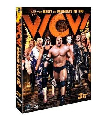 ☆阿Su倉庫☆WWE摔角 The Best of WCW Monday Nitro Vol. 2 DVD WCW精選專輯二部曲 熱賣特價中 Sting