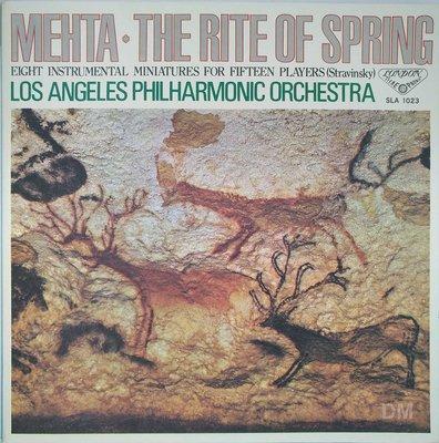 黑膠唱片 Zubin Mehta - Stravinsky The Rite of Spring etc.