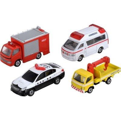 TOMICA 多美小汽車 緊急車輛組TM48652