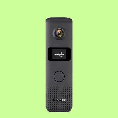 5Cgo【含稅】C18專業微小型高清LED屏錄音拍照錄像拍照防抖胸前背夾佩戴便攜行車記錄儀器601252424983