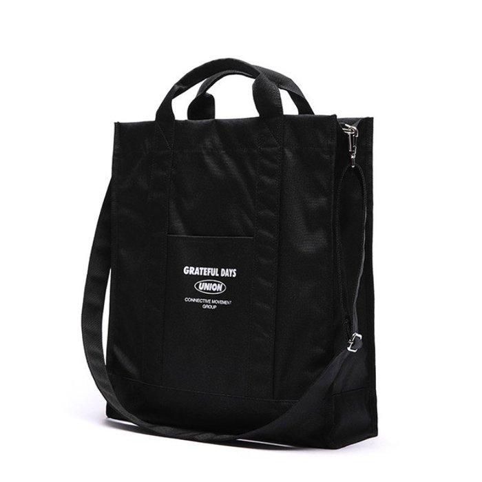 【韓國姐妹淘】(UNIONOBJET) OVER SIZE CROSS BAG BLACK 側背包