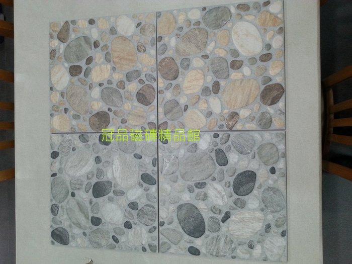 ◎冠品磁磚精品館◎國產精品 鵝卵石石英磚(共二色)-30X30 CM