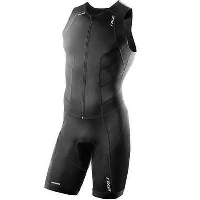2XU Men's Perform Full Front Zip Trisuit MT3859D三鐵衣(黑XS) 新北市