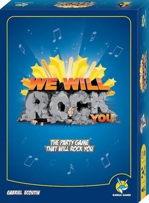 搖滾節奏 We Will Rock You 繁體中文版 高雄龐奇桌遊