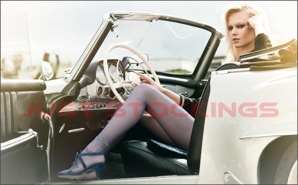 °☆就要襪☆°全新義大利品牌 OROBLU LESLIE 奢華水晶腳環造型絲襪(20DEN)