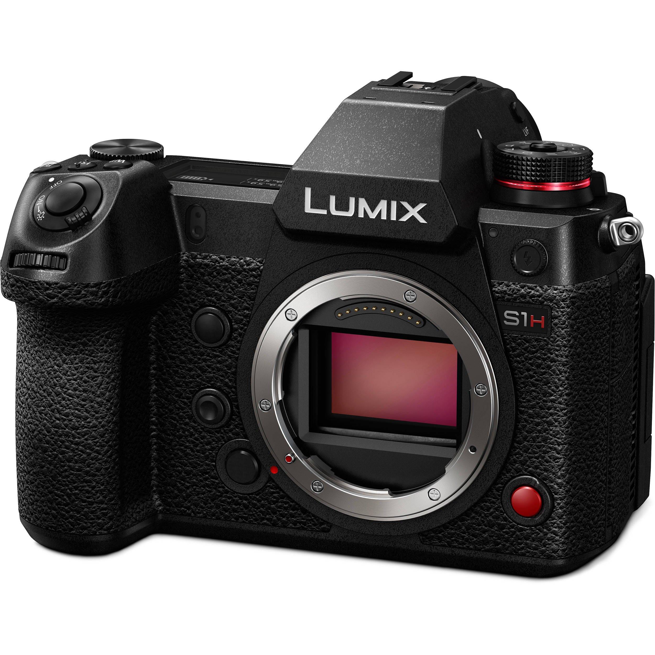 九晴天  租鏡頭 租相機 出租~Panasonic S1H 含Sigma MC-21轉接環(Canon EF)
