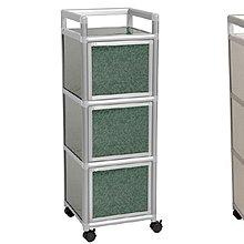 8號店鋪 森寶藝品傢俱企業社 B-29 廚房 鋁架系列 5-4 1.2尺三連箱