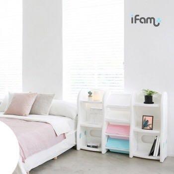 韓國ifam 正品代購 首爾空運 2018新品上市 兒童用品收納櫃 玩具收納櫃 兒童房佈置 收納盒 書架 書櫃