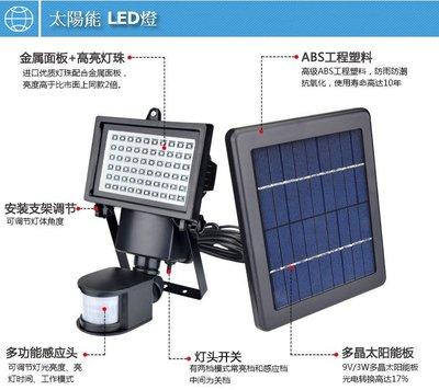 【達叔電腦】太陽能 LED燈 戶外家用室內LED路燈人體感應燈庭院燈超亮防水照明壁燈太陽能人體感應燈