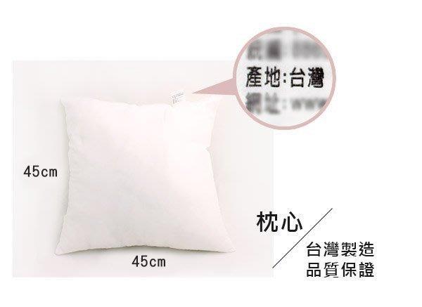 枕心 抱枕 靠枕 小方枕 台灣製 ( 45X45枕心 99元/顆 ) MIT好安心 iHOME愛雜貨