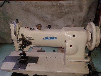 【縫紉機/針車 】日本製造 重機牌 JUKI 雙針綜合送 《大梭》帆布、皮革、沙發專業用工業針車
