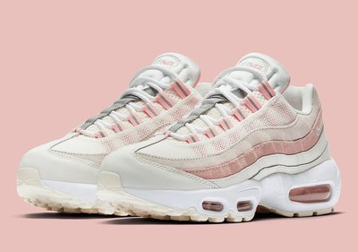【C.M】Nike Wmns Air Max 95 Bleached Coral 307960-116 玫瑰粉