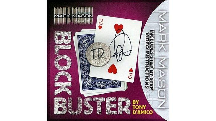 【天天魔法】【S1155】正宗原廠~硬幣紙牌全新結合~BLOCK BUSTER by Tony D'Amico