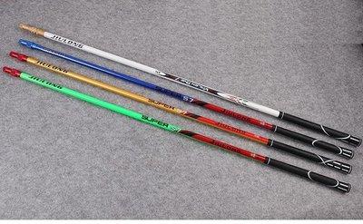 碳纖維競技手撈網 抄網 CARBON 長節超強硬 無段伸縮 高爾夫防滑把手 270+40cm 自由搭配網頭
