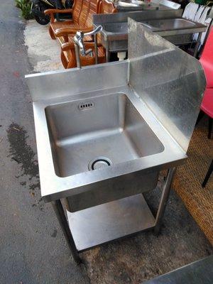 廚房專用厚白鐵工作水槽 洗手台
