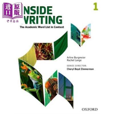 Oxford Inside Writing Level 1 英文原版 牛津Inside學術英語寫作 第1級 學生書帶線上