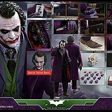 現貨 Hottoys QS010 TDK - 1/4 The Joker with Bonus Part 雙頭雕 動漫節會場特別版 小丑 Batman