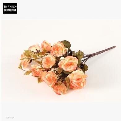 INPHIC-塑膠花娟插花花藝成品歐式假花套裝家居客廳整體擺設裝飾花-A款_S01870C