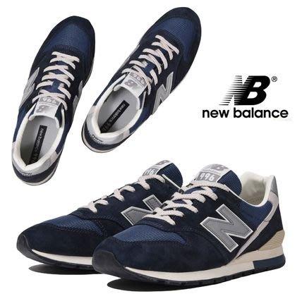 ➕sneakersplus➕NEW BALANCE 復古跑鞋 經典NV 海軍藍配色 3M麂皮 男女 CM996GN