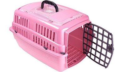 禾其 Her Chi 小型犬貓 輕便型外出提籠 易清掃運輸籠 車載籠H318(H-318)天窗款,每件500元