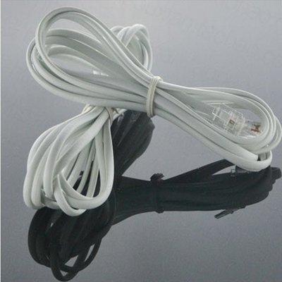 優質2芯電話線 3米電話線座機電話線 深圳市恒通達