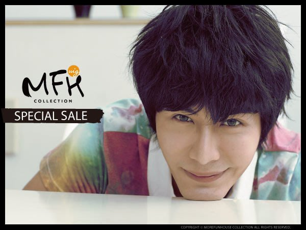 MFH韓系男生假髮~都會紳士微捲風【L055002】韓國髮型男髮型 男假髮男 暖男 質男 造型髮