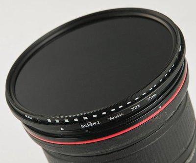 呈現攝影-ND減光鏡 82mm 減光鏡 ND鏡 可ND400 減光約8格 16-35LII 24-70LII