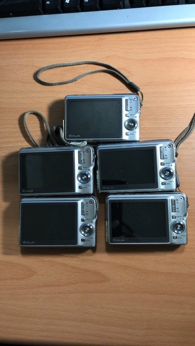 ☆寶藏點☆CASIO EX-S880 數位相機 日本製造 電池+全新旅充+全新記憶卡512MB