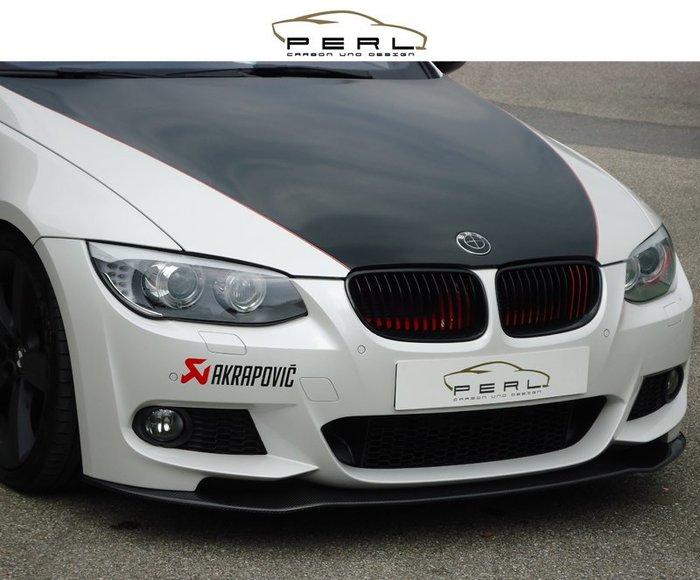 【樂駒】Perl Carbon Design BMW E92 E93 LCI M-Paket 碳纖維 前下擾流 前下巴