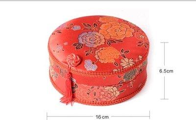【蘑菇小隊】婚慶針線包結婚針線盒陪嫁嫁妝新娘家用布藝縫紉套裝圓形 禧緣堂-MG30077