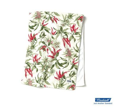GOODFORIT / 日本品牌Radiall JALAPENO夏季限定滿版墨西哥辣椒海灘巾/大麻葉/兩色