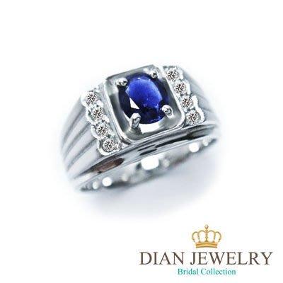 【黛恩&聖蘿蘭珠寶】點開看更多款式  天然男藍寶鑽戒 鑽戒男戒婚戒鑽石藍寶石項鍊手鍊耳環男表鑽戒輕珠寶衝評價父親節情人節