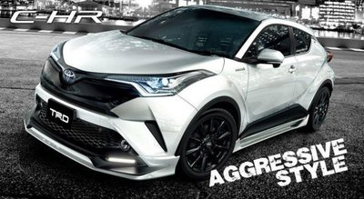 法克斯 TRD TOYOTA 豐田 C-HR Aggressive Style CHR 空力套件 日本進口