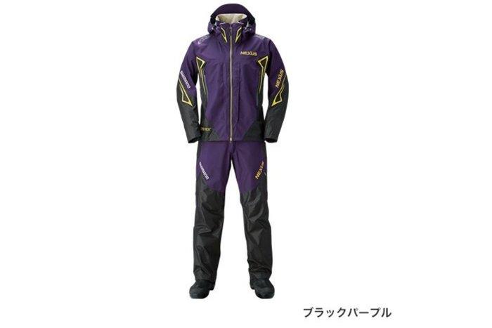 五豐釣具-SHIMANO 新款薄的GORE-TEX透濕.防水雨衣套裝RA-119R特價9500元