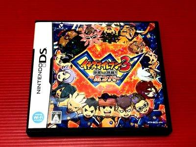 ㊣大和魂電玩㊣任天堂NDS遊戲 閃電11人 3代 邁向世界的挑戰 炸彈版{日版}編號:I2---2DS 3DS 主機可玩