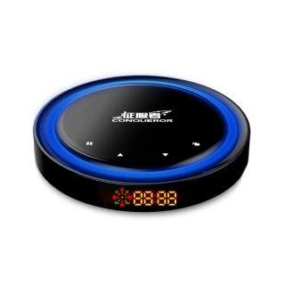 『 征服者 CXR-9080 單機版 』星空精靈GPS分離式測速器/自動更新/手機APP功能設定/另售5288