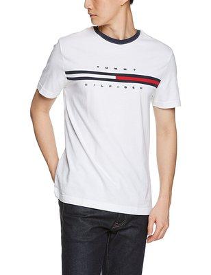 ☆【TH男生館】☆【TOMMY HILFIGER短袖T恤/基本款/熱銷款】☆【TOM001D1】(XS-S-M-L)