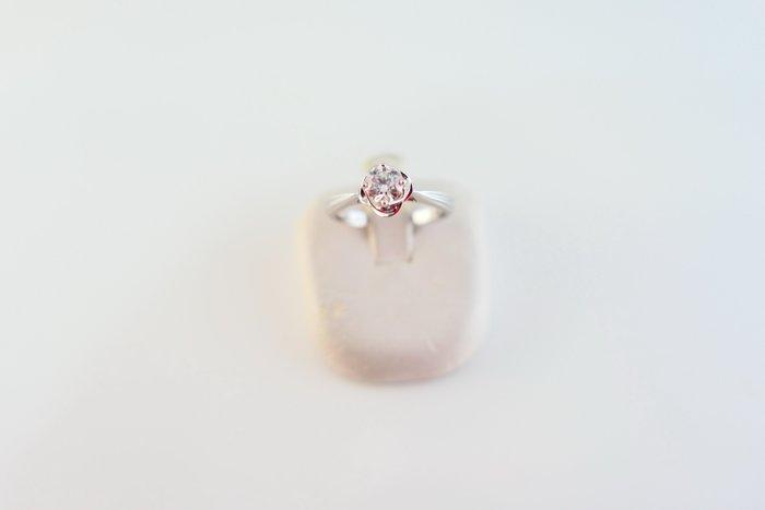 [吉宏精品交流中心]33分 天然鑽石 GIA D/VS2 3EX 八心八箭 ALUXE 白K金 戒指(盒卡全)