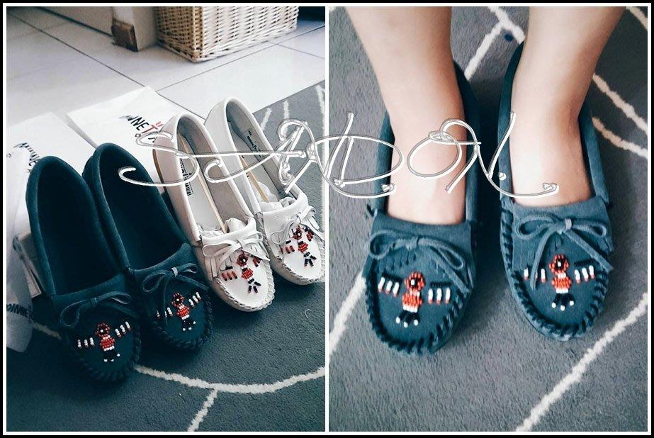 SaNDoN × 山東MINNETONKA THUNDERBIRD 2莫卡辛平底鞋:雷鳥蝴蝶結流蘇帆船鞋娃娃鞋