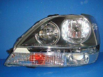 小亞車燈╠ 全新LEXUS-RX300晶鑽黑框版大燈一顆3200