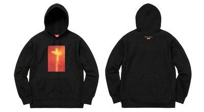 xsPC Supreme Piss Christ Tee 耶穌 十字架 帽Tee 黑M 現貨