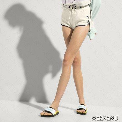 【WEEKEND】 FENTY X PUMA Rihanna Dolphin 短褲 熱褲 白色 18春夏