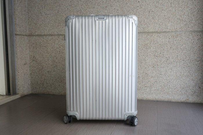 【台中青蘋果】RIMOWA Topas 大型四輪旅行箱 E-TAG 92477005 #41482