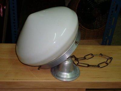 典藏光復初期台灣老件牛奶燈一個-漂亮優雅!!