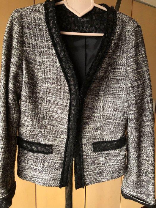 日系專櫃品牌小香風毛料外套