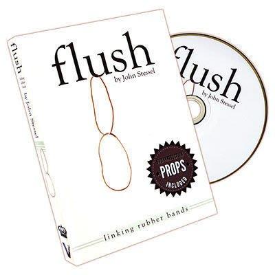 【意凡魔術小舖】Flush by John Stessel~最最乾淨的橡皮筋串聯近距離魔術