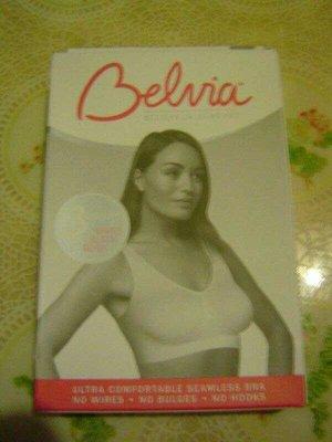 英國 Belvia貝薇雅 背心 (Bra T/內搭) S號 黑色 無痕内衣 TB-006