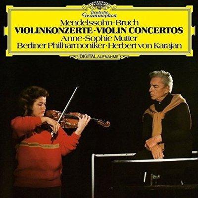 【黑膠唱片LP】孟德爾頌&布魯赫:小提琴協奏曲 / 慕特 Anne-Sophie Mutter---4797220